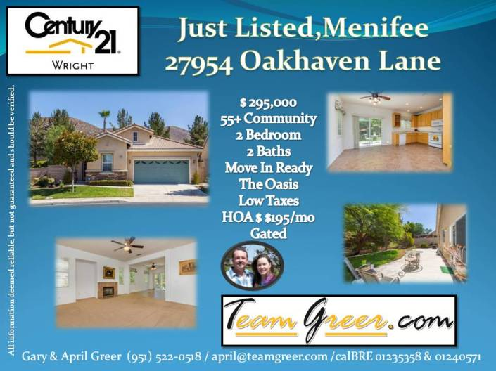 Just Listed Oakhaven, JPEG