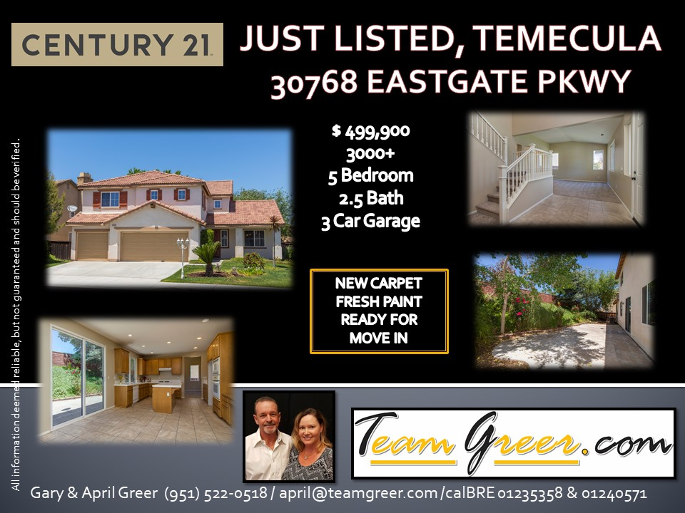 JUST LISTED EASTGATE